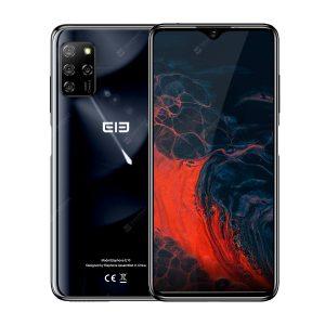 ELEPHONE E10 Octa Core Smartphone 4GB 64GB 6.5 inch Screen Quad Camera 48MP Main Cam Android 10 NFC Side Fingerprint Mobile Phone