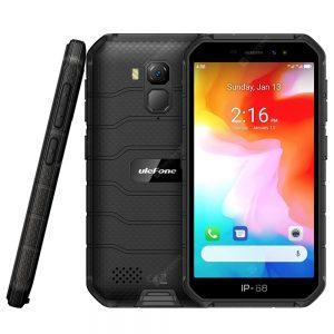 Ulefone Armor X7 4G Smartphone 5 inch Android 10.0 Helio A20 MT6761VWE 2GB RAM 16GB ROM 2 Rear Camera 4000mAh Battery IP68 IP69K Waterproof Global Version