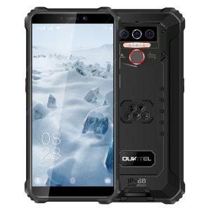 OUKITEL WP5 4G Smartphone 8000mAh Battery 5.5 inch 3 Rear Camera Android 9.0 IP68 & IP69 Waterproof Global Version