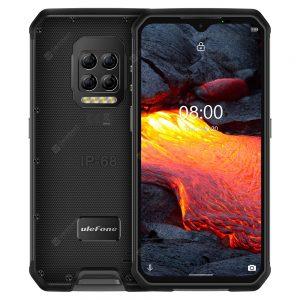 Ulefone Armor 9E 4G Rugged Smartphone IP68 IP69K Waterproof 6.3 Inch 8GB 128GB 64MP Quad Camera NFC 6600mAh Helio P90 Octa Core