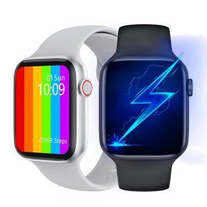 IWO W46 W26 W56 Smart Watch 2020 Original Series 6 Women Smartwatch ECG Heart Rate Temperature IWO 12 13/ 13PRO