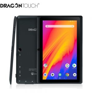 Dragon Touch Y88X Pro 7 inch Tablet Android 9.0 1.5GHz Quad core 2GB RAM + 16GB IPS HD Display WiFi Tablet PC for Children Adult
