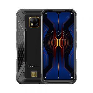 IP68 IP69K DOOGEE S95 Modular Rugged Mobile Phone 6.3inch Display 5150mAh Helio P90 Octa Core