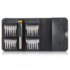 Gocomma Screwdriver Wallet Kit Repair Tools 25 in 1