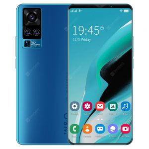 X50 Plus Smartphone MT6763 Octa Core 5.8 inch 4GB RAM 64GB ROM Android 10.0 8MP + 13MP Cameras 4800mAh Battery Face ID Fingerprint Recognition