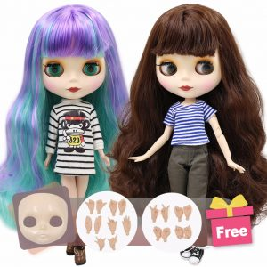 ICY DBS blyth doll joint body Faceplate&Hand set as gift on sale 1/6 BJD neo azone pullip