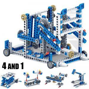 Mechanical Gear Technic Building Blocks Engineering Children's Science Educational STEM Toys 3IN1 Building Blocks Kid Brick Toys