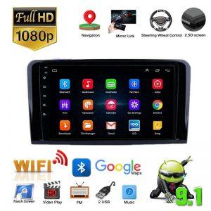 "Car Electronics DVR/Dash 2+32G 9"" For Mercedes-Benz W164 X164 ML GL Android 9.1 Stereo GPS Navi Player WiFi 4G Car Radios"
