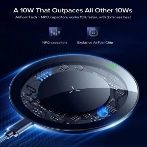 INIU 10W Qi Wireless Charger For Samsung Galaxy S20 Note 9 8 LED USB C Fast Charging Pad For iPhone 12 mini 11 Pro Max Xs Xr X 8